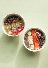 Rezept: Vegane Smoothie Bowl