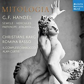 Christiane Karg/Romina Basso/Alan Curtis/Il Complesso Barocco – Händel: Mitologia / Dhm 888751998124 / CD € 17,95