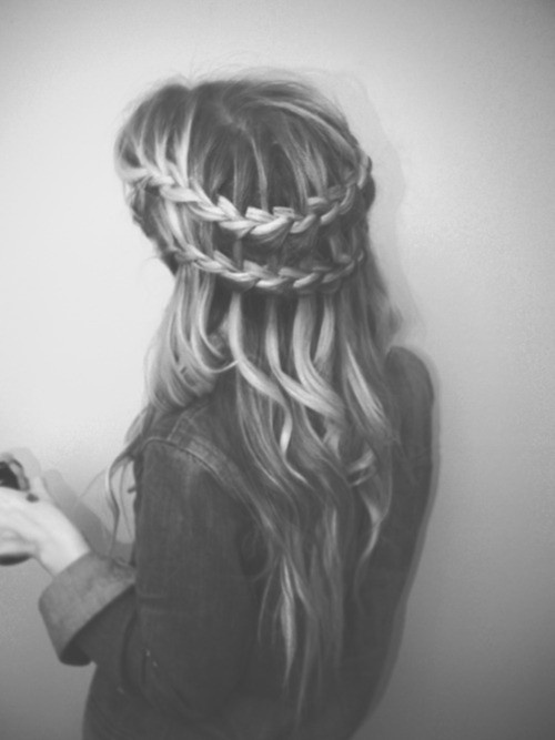 love this double-braid
