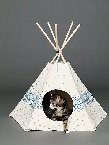 Cat Tipi Printed Cat Teepee $88