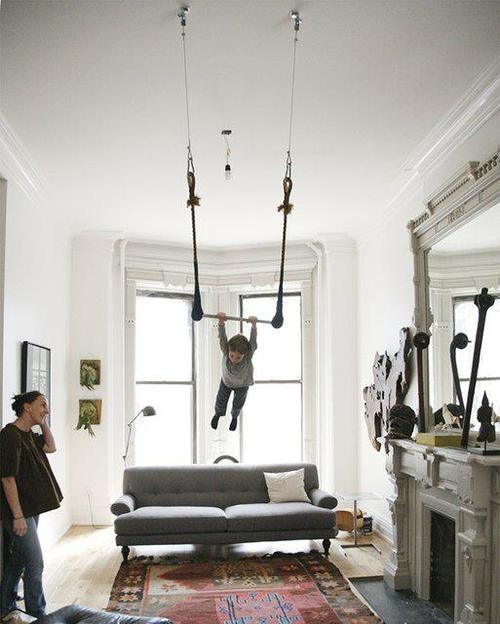 Trapeze in the Living Room?
