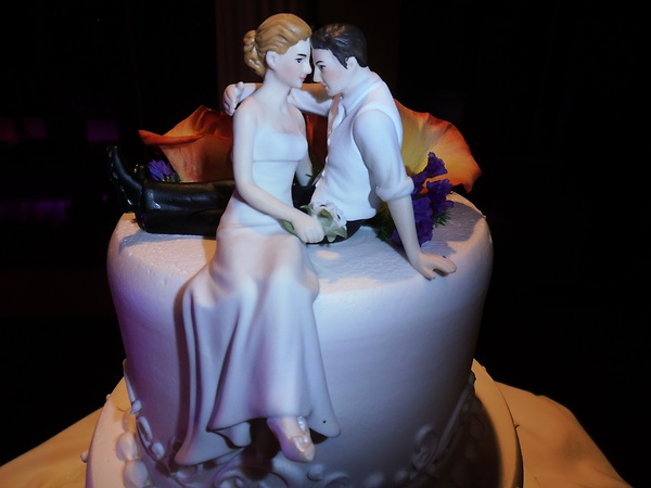 Romantic B&G Cake Topper