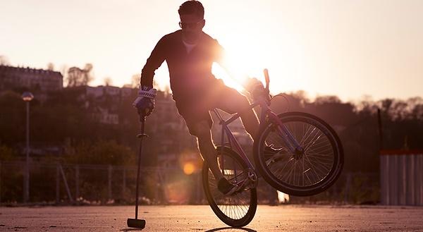 Hop on the saddle - with Yorgo Tloupas, Bike Polo Champion