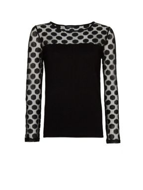 Mango Polka-dots panel sweater, £ 27.99