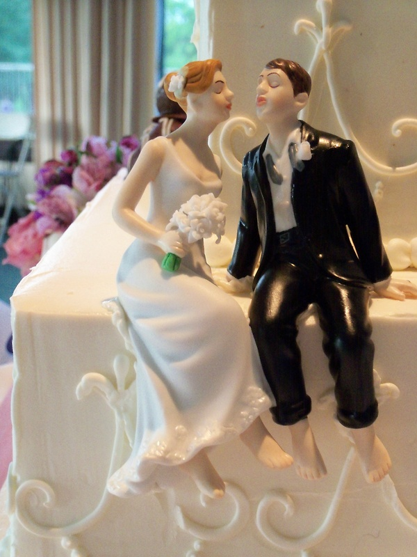 Romantic B&G Cake Topper