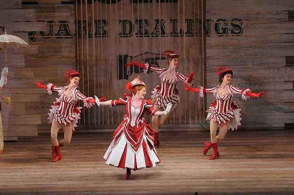"""Showboat. """"A triumph—a stylish, fast-paced and colorful show that had the capacity audience on its feet, cheering loud and long"""" (Chicago Classical Review)"""