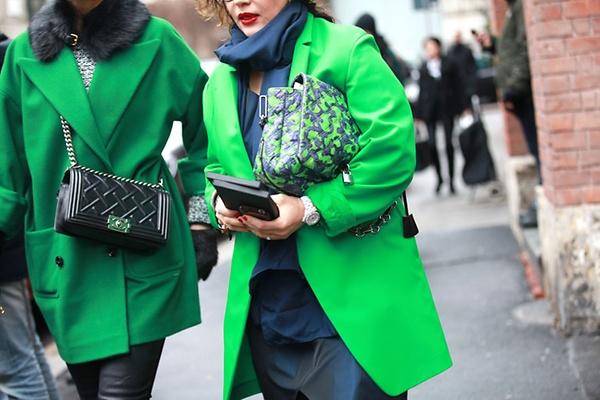 Street Looks at Milan Fashion Week: Day 3