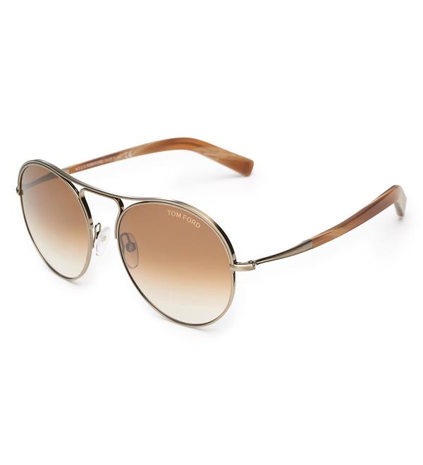 Tom Ford - Sonnenbrille 'Jessie' gold/braun