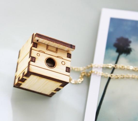Polaroid Camera Necklac $34