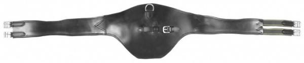 Sattelgurt Stollenschutz - schwarz