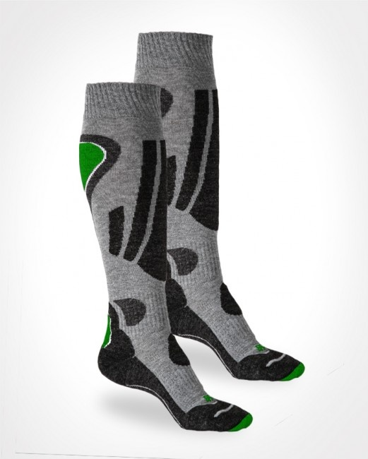 Thermosocken Aim High Socks - schwarz/grün