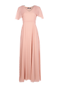 Chiffon Maxi Dress >