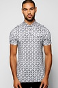 All Over Print Pocket Polo