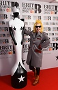 Designer Pam Hogg with last year's custom awards