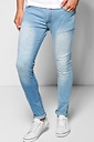 Skinny Fit Light Wash Jeans