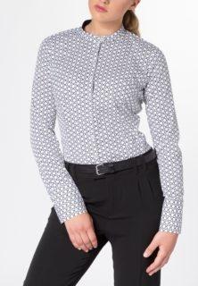 ETERNA Bluse mit Print und Stehkragen