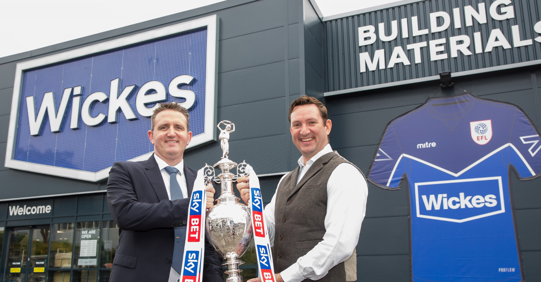 WICKES SIGN AS OFFICIAL HOME IMPROVEMENT PARTNER OF EFL!