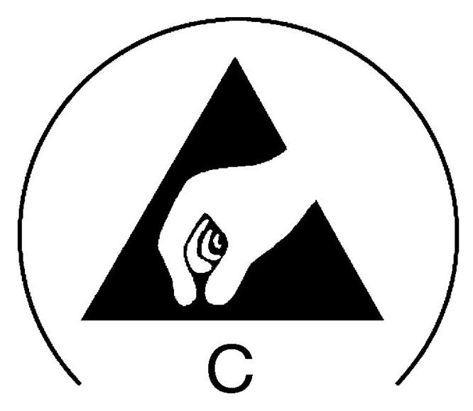 "Icon Elektrostatisch leitfähig, ""Conductive"""