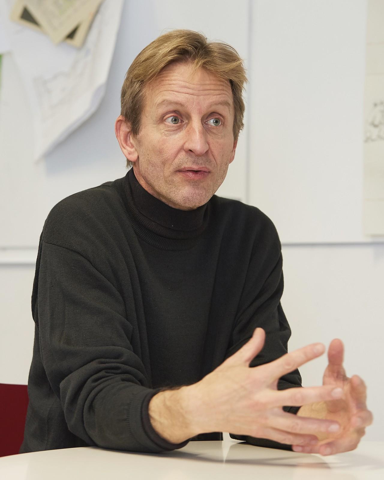 Christof Struhk Geschäftsführer von Modulor in Berlin über die Hindernisse auf dem Weg zum nachhaltigeren Unternehmen