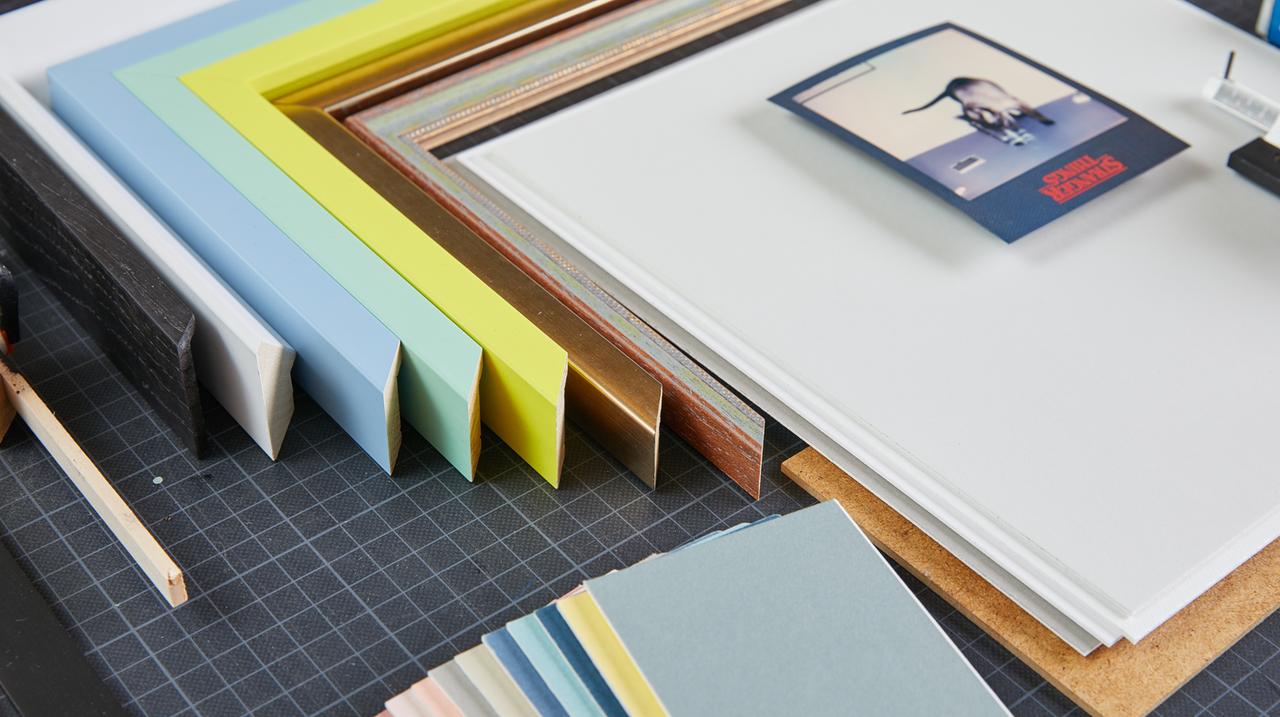 Alles was du brauchst zum Bilder einrahmen: Die besten Tipps aus der Modulor Rahmenwerkstatt