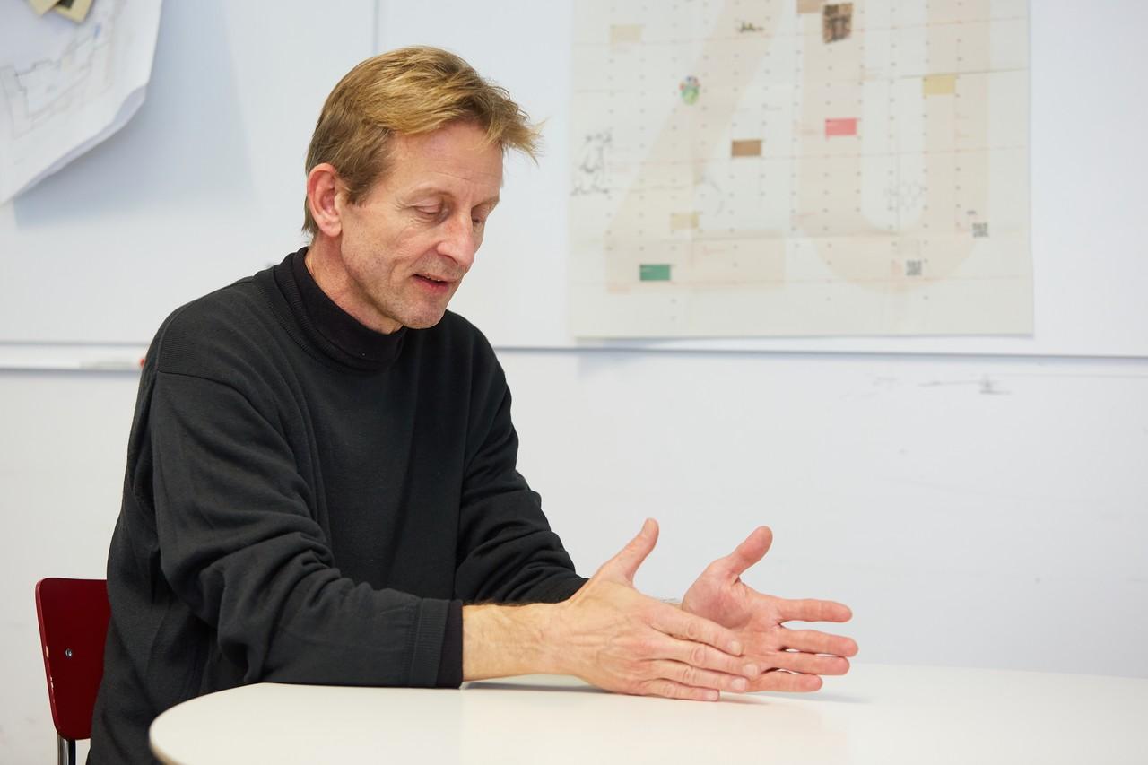 Christof Struhk Geschäftsführer von Modulor Berlin im Gespräch
