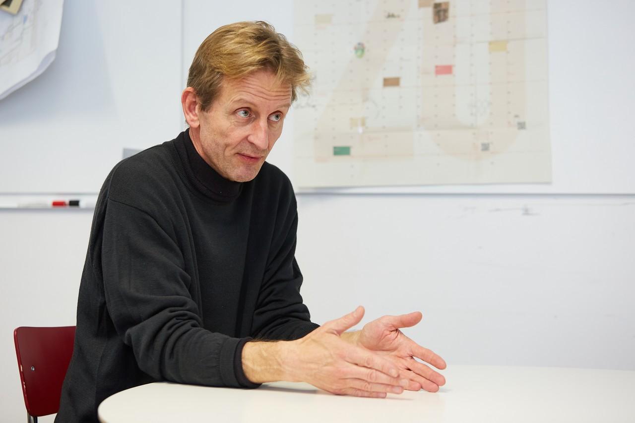 Christof Struhk Geschäftsführer von Modulor in Berlin spricht über das Gefühl der Hilfslosigkeit angesichts der Klimakrise