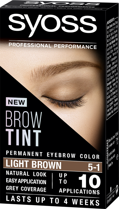 Syoss Brow Tint 5-1 Light Brown