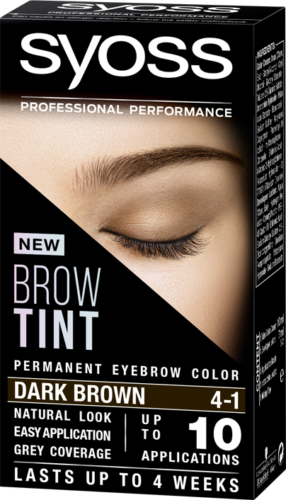 Syoss Brow Tint 4-1 Dark Brown