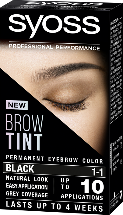 Syoss Brow Tint 1-1 Black