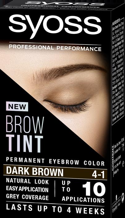 Syoss Brow Tint 4-1 Dark Brown