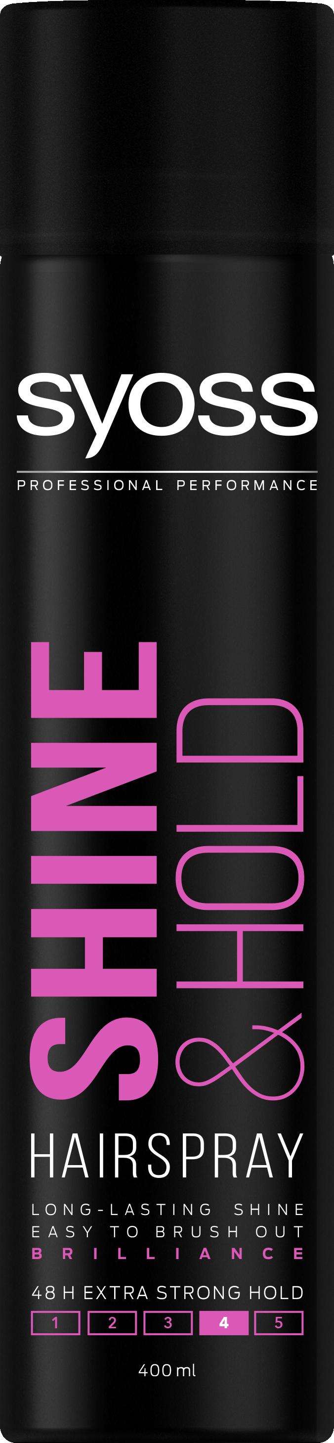 Syoss Shine & Hold Hairspray