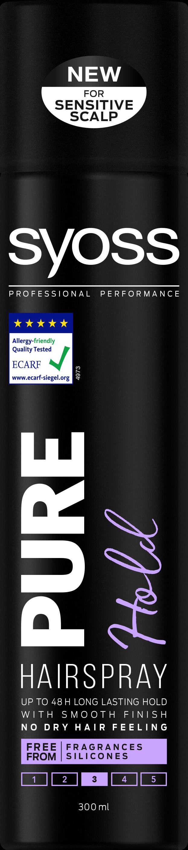 Syoss Pure Hold Hairspray