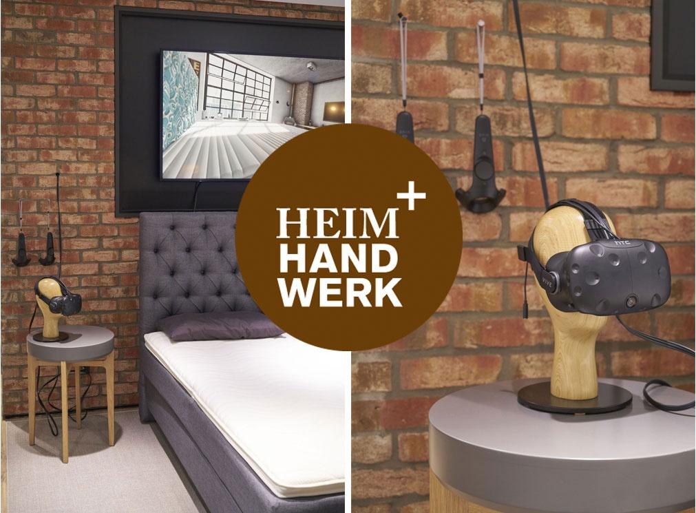 bettenrid auf der heim und handwerk 2017. Black Bedroom Furniture Sets. Home Design Ideas