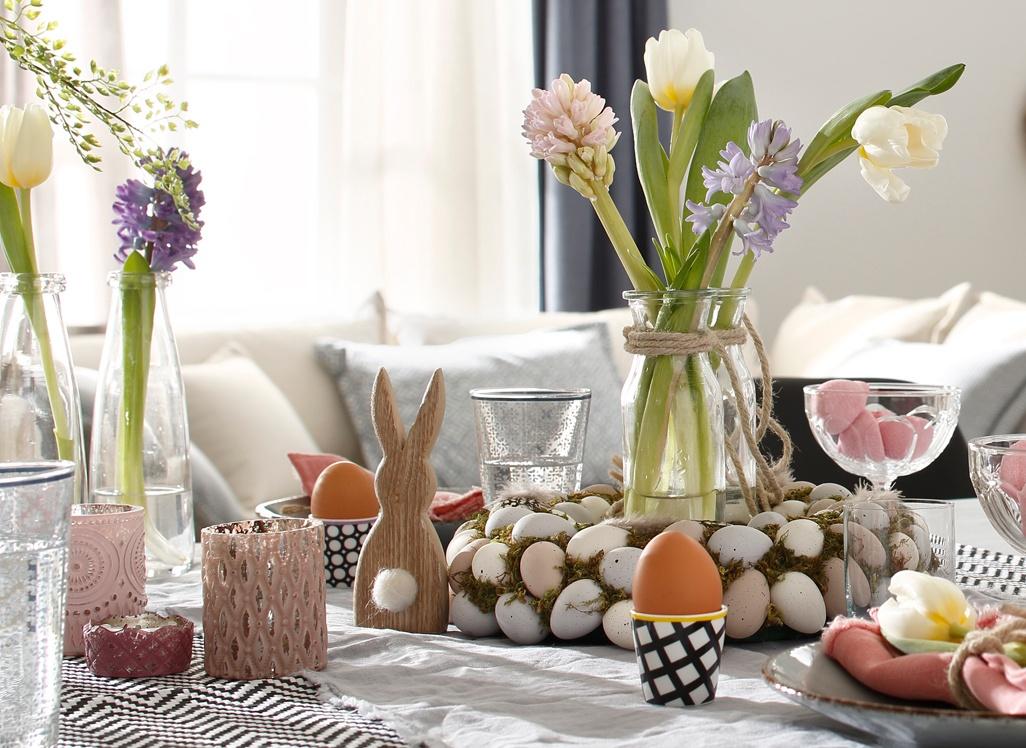 dekotipp festlicher tisch f rs osterfest. Black Bedroom Furniture Sets. Home Design Ideas