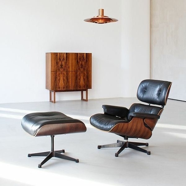 eine designikone der eames lounge chair. Black Bedroom Furniture Sets. Home Design Ideas