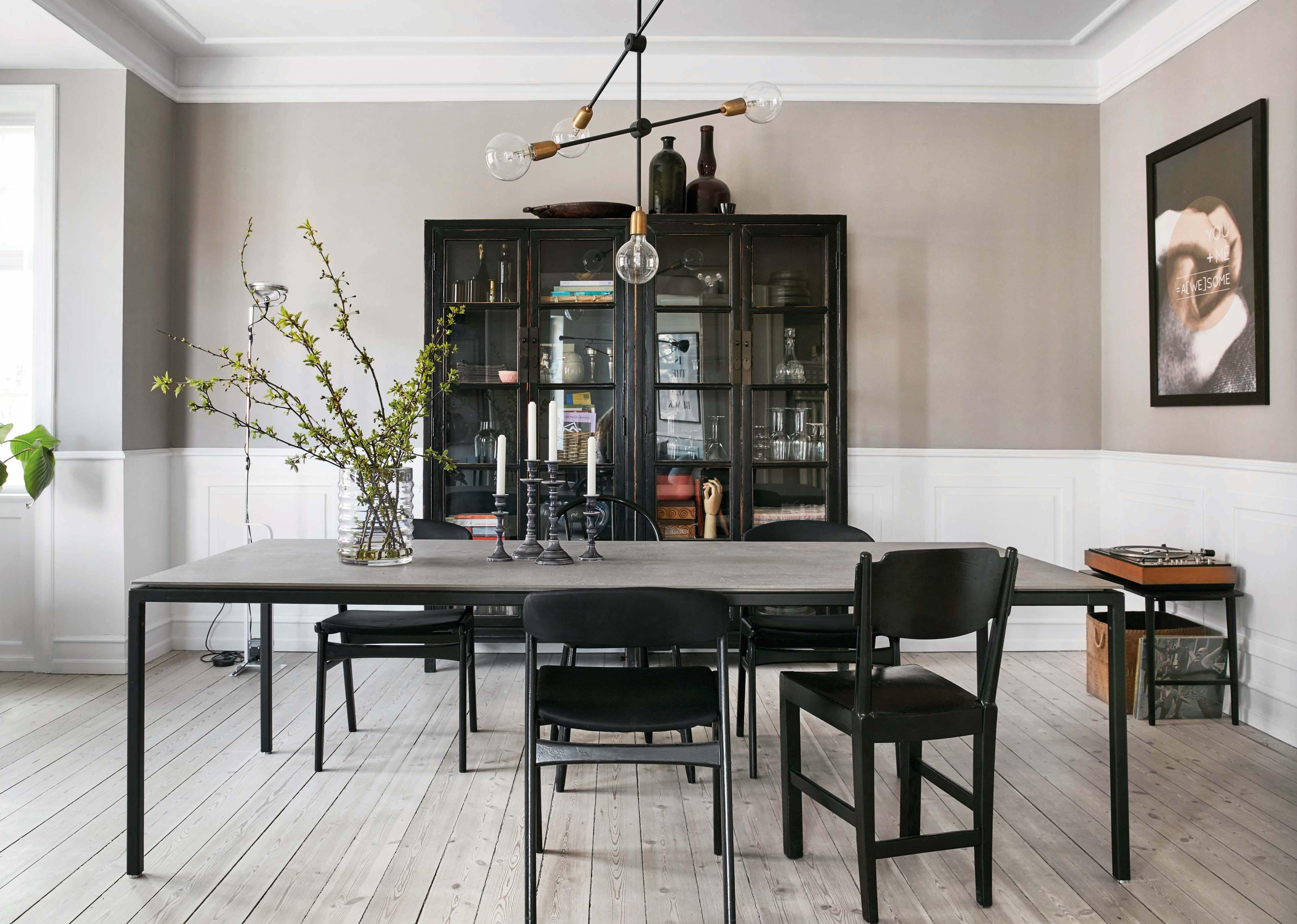 Großartig Land Küche Aus Massivholz Stil Esstisch Bilder ...