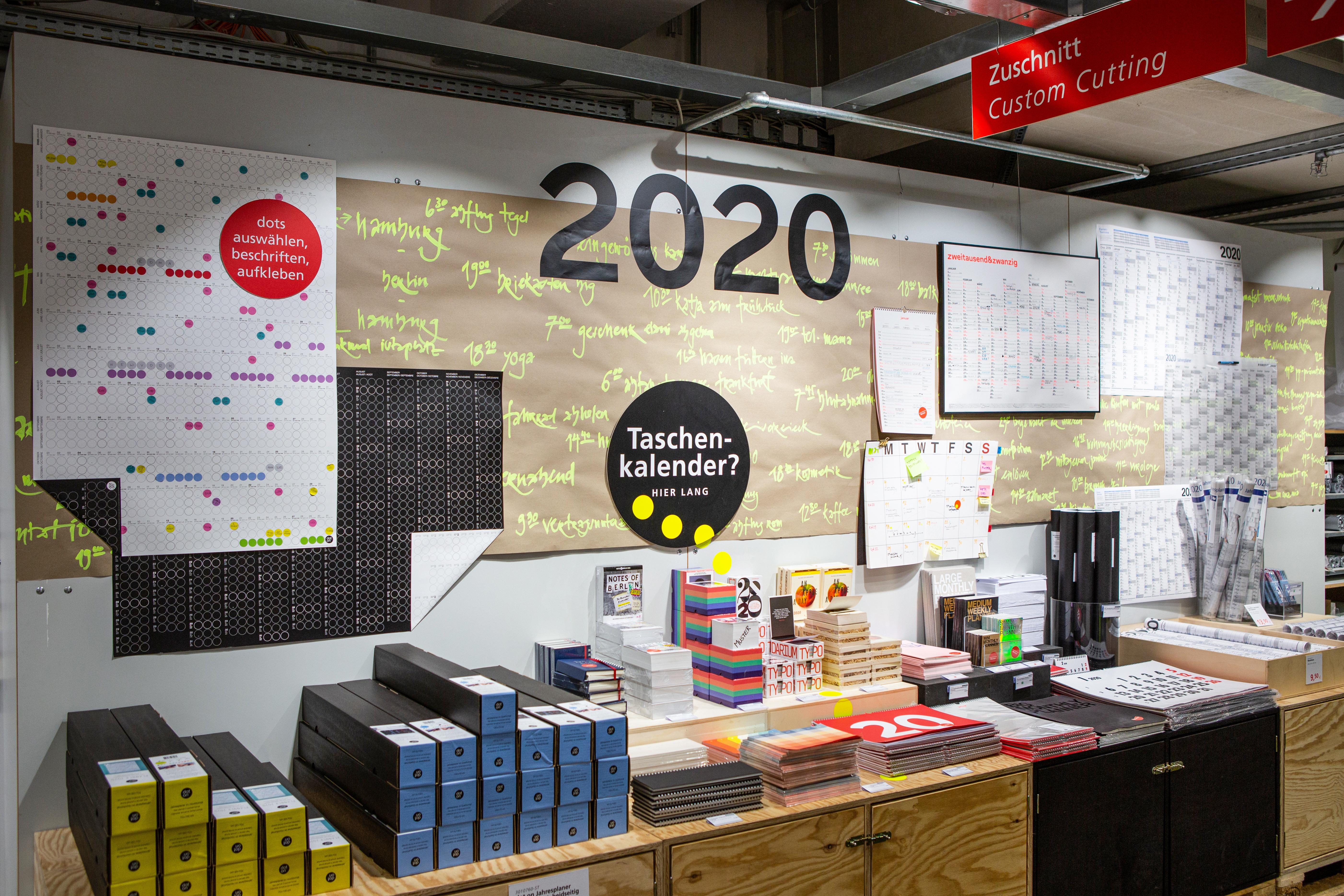 Die Besten Planer und Kalender 2020: Ob für die Wand oder die Hosentasche, bei Modulor findest Du garantiert den richtigen Kalender 2020