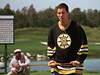 Adam Sandler plays Happy Gilmore