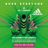 adidas Laser Event auf Facebook