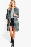 Alisha Shaggy Faux Fur Coat