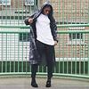 Alisha wears Camo Jacket £14, Zip Joggers £15