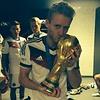 Andre Schürrle feiert den Weltmeistertitel auf Instagram