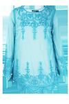 Anna Embroidered Beach Kaftan >