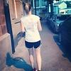 Anna joggt durch Mannheim