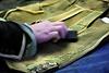 Bearbeitung der Lederhose