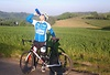 Björn mit der SIGG VIVA beim Biken