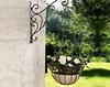 Blumenampel mit Wandhalter