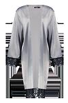 Bryony Satin Lace Trim Kimono