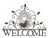 Deko-Schild Welcome