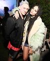 Designer Jeremy Scott and Zoe Kravitz